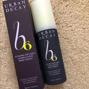 NIB Urban Decay B6 Complexion Prep Spray